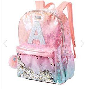 Justice for girls sparkle backpack
